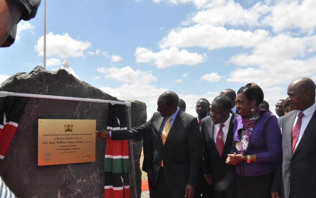 Commissioning of Konza Infrastructure by H.E. the Deputy President Hon. William Ruto
