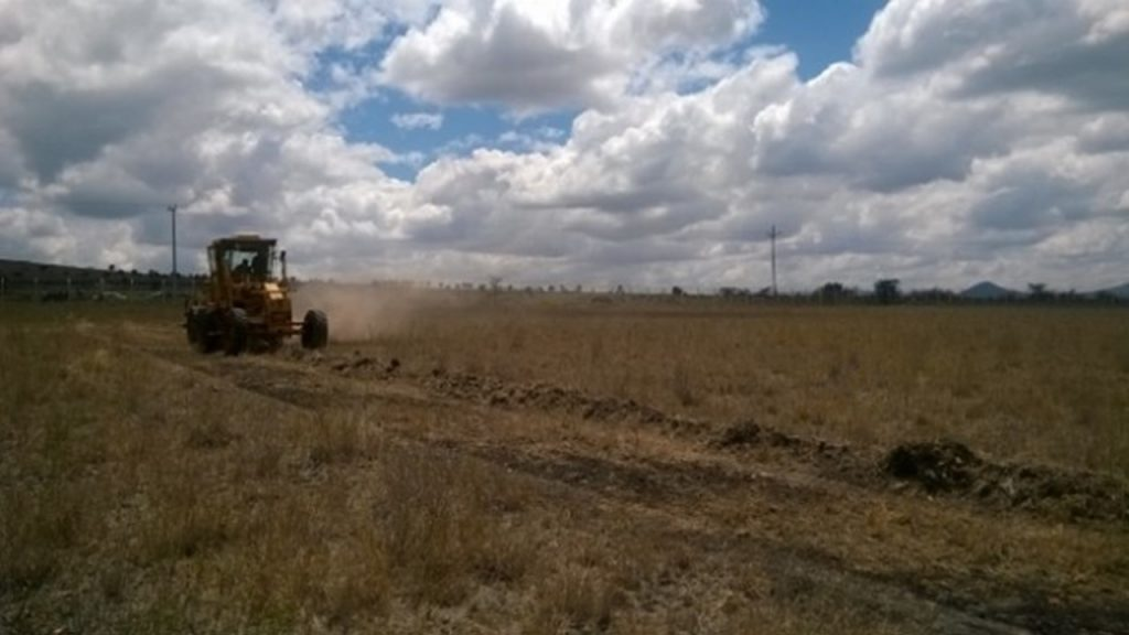 Access and Arterial Road Construction and Preliminary earthwork