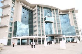 First Konza Complex Building Complete