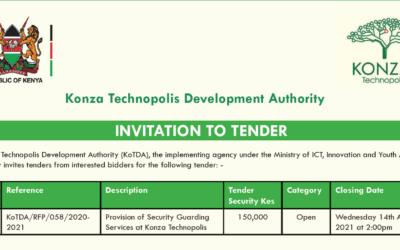 Tender Invitation Provision of Security Guarding Services