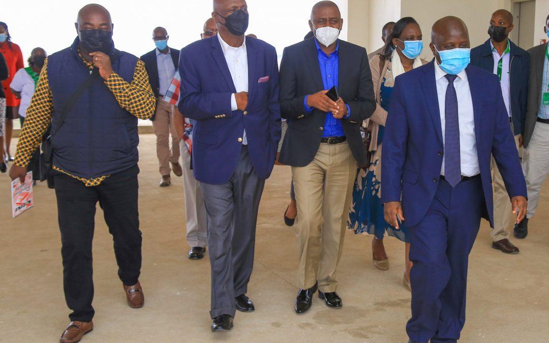 Senate Committee on ICT Tours Konza, Lauds Progress of Project